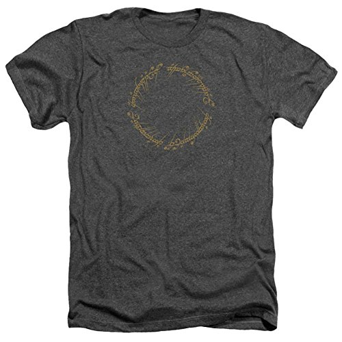 Lord Of The Rings- One Ring Inscription T-Shirt Size XXL (The Ring From Lord Of The Rings Inscription)