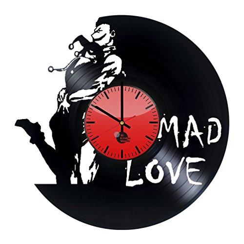 Mad Love Vinyl Record Wall Clock - Get unique bed, living ro