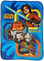 "Lucas Film Star Wars Rebels Rule 62"" x 90"" Twin Blanket"