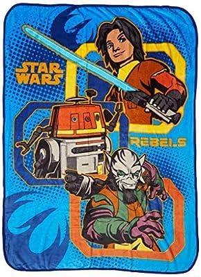 "Lucas Film Star Wars Rebels Rule 62"" x 90"" Twin Blanket"