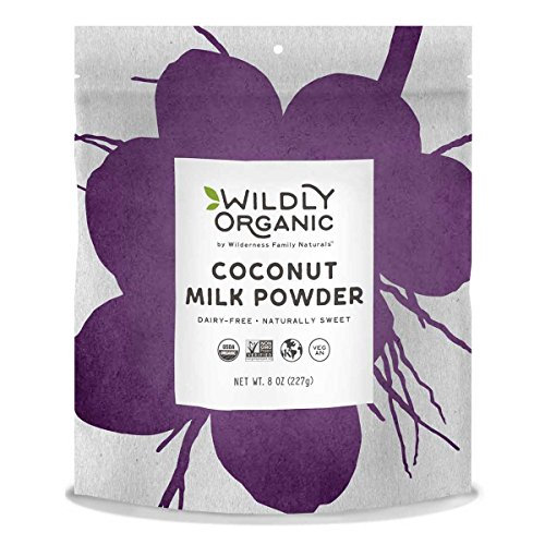 100% Certified Organic Coconut Milk Powder, Vegan, Dairy-Free, 8 Ounces