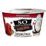 So Delicious Dairy Free Coconutmilk Yogurt Alternative, Raspberry, 5.3 oz