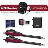 Liftmaster LA412PKGU Dual 12VDC Solar Residential Linear Actuator & Receive A FREE Liftmaster Gift Bundle (Baseball Cap, Dual USB Charger & 4 in 1 Screwdriver)