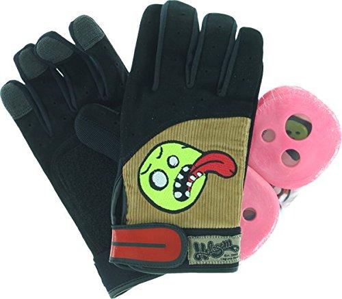 Holesom Cords Slide Gloves L/XL-Black/Brown/Asst
