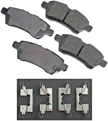 Akebono ACT1101 ProACT Ultra-Premium Ceramic Brake Pad Set