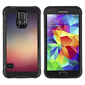 único patrón Impacto Shock-Absorción y Anti-Arañazos Funda Carcasa Case Bumper Para Samsung Galaxy S5 V , ( Sole )