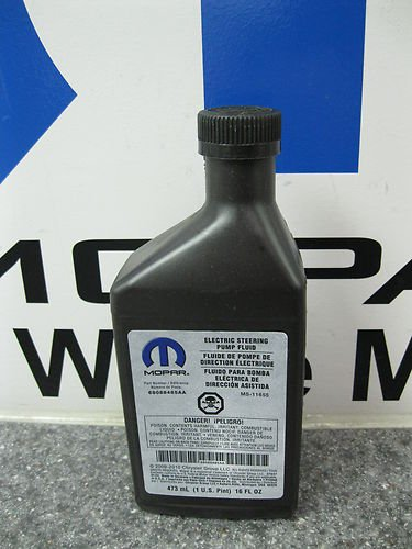 CHALLENGER CHARGER 300 DURANGO CHEROKEE ELECTRIC POWER STEERING FLUID MOPAR OEM (Power Steering Pump Dodge Charger compare prices)