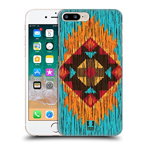 Tribal Flame Designs - Head Case Designs Flame Timber Tribal Prints Hard Back Case for Apple iPhone 7 Plus / 8 Plus