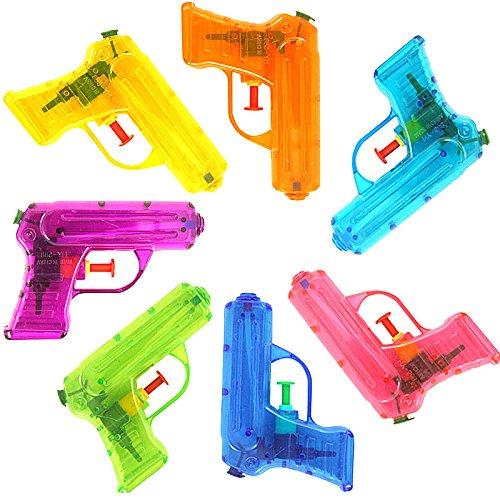 German Trendseller® 6X Pistola de Agua Transparente┃Nuevo ...