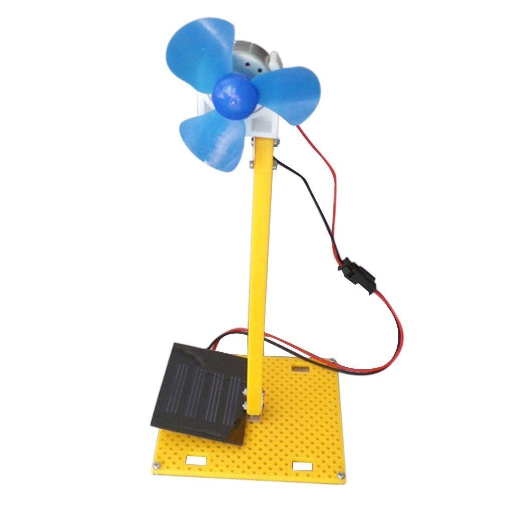 SGerste DIY - Kit de generador de turbina con energí a solar, kit de modelo, juguete para niñ os juguete para niños