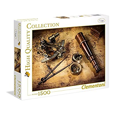 Clementoni 31808 High Quality Collection Puzzle Course To The Treasure 1500 Pezzi