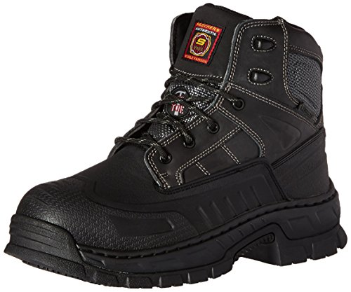 Skechers for Work Men's Vinton Steel Toe Work Boot - Blac...