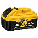 DEWALT DCB206-2 20V MAX 6.0Ah Lithium Ion Premium Battery, 2 Pack