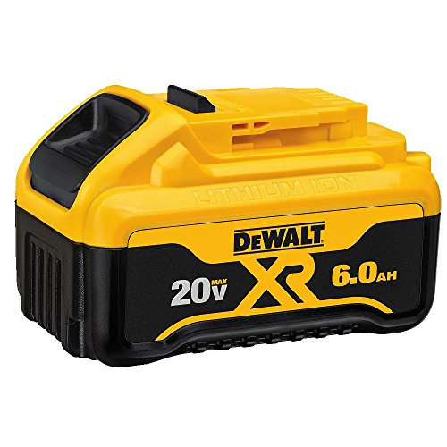 Dewalt Batteries Two Pack - DEWALT DCB206-2 20V MAX 6.0Ah Lithium Ion Premium Battery, 2 Pack