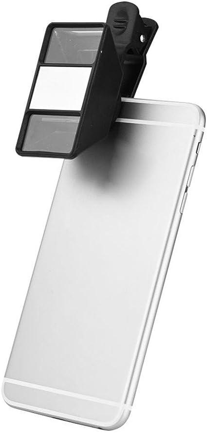 Richer-R Lentes para Móviles,3D Lente de Cámara Portátil para Smartphone,Mini Camera Lens Objetivo 3D Universal para Teléfono Móvil/Cellphone/Tableta: Amazon.es: Electrónica