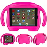 iPad Mini Kids Case - Natple Light Weight iPad Mini 4 Case Shock Proof Kids Friendly Handle Stand Cover Child Proof Protective Cases for Apple iPad Mini 4 3 2 1 Tablet 7.9 inch (Rose)