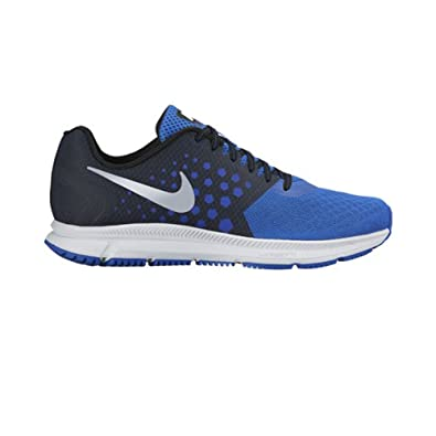 online store 89d28 1d6f0 New Nike Men s Zoom Span Running Shoe Black Hyper Cobalt 8