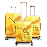Gabbiano Safari Collection 3 Piece Spinner Set (Giraffe)