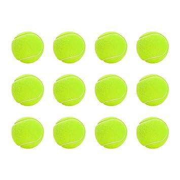 Pelotas de tenis, 12 unidades, pelotas de tenis con bolsa de malla ...