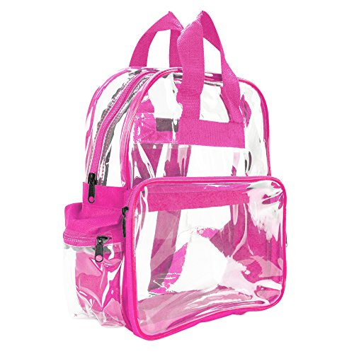 Pink Clear Backpacks