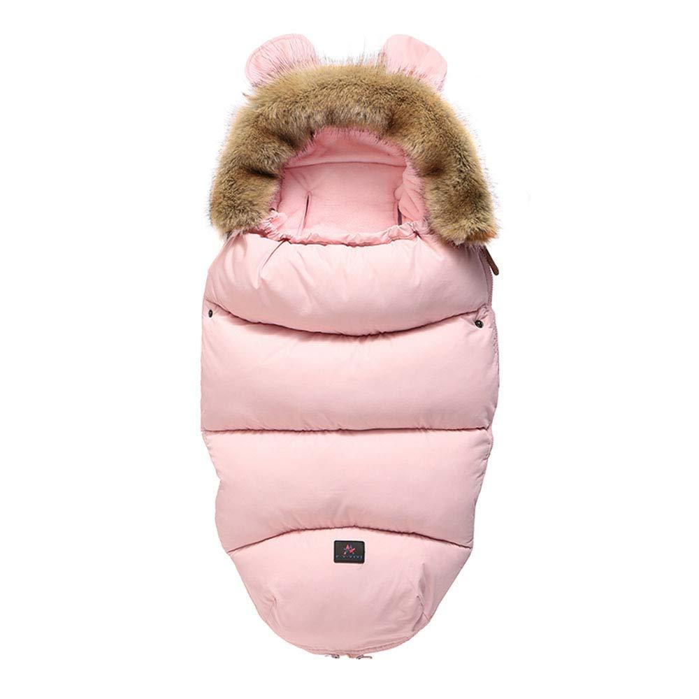 in cotone OUlike Sacco a pelo per passeggino e carrozzina indossabile per bambini da 0 a 18 mesi unisex caldo