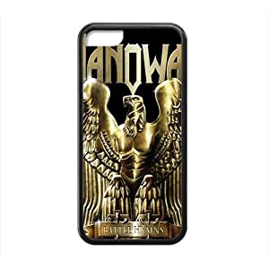 MEIMEISFBFDGR-Store manowar heavy metal logo bands Phone case for iphone 4/4sMEIMEI