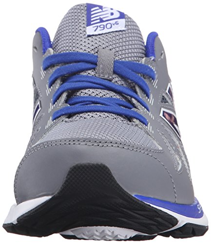 New Balance KJ790V6 Youth Running Shoe (Little Kid/Big Kid) Grey/Blue