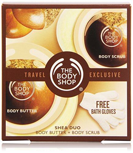 The Body Shop Shea Duo Travel Exclusive, 3 Count