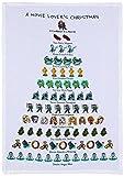 Mistletoe & Co. a Movie Lover's Christmas Kitchen Towel, 18'' x 26''