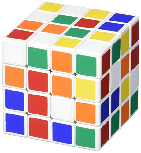 Shengshou 4 x 4 x 4 Spring White Magic Cube Puzzle