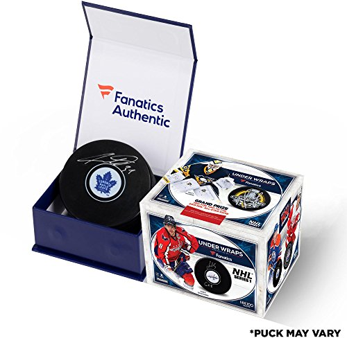 2017 Fanatics Under Wraps NHL Series 1 Sealed Single Hockey Puck Box - Fanatics Authentic Certified - Autographed NHL Pucks (2018 All Star Game Tickets)