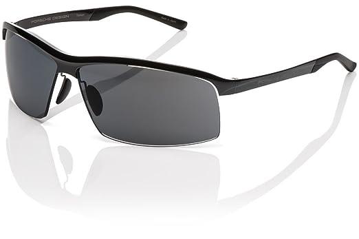 weiße Kunststoff Fassung schwarze Rahmen eckig schwarze Gläser