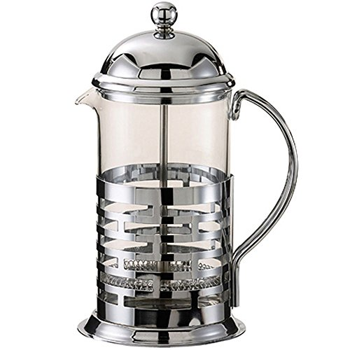 Service Ideas T477B Brick Coffee Press, Polished, Stainless Steel, 600 mL by Service Ideas