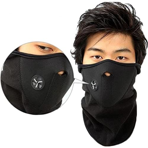 Wholesale Andyshi Unisex Outdoor Sports Cycling Dustproof & Windproof Warm Half Face Ski Mask for cheap