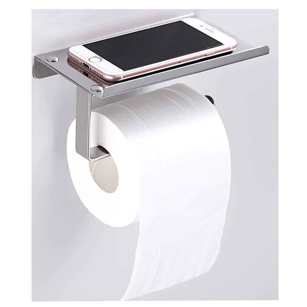Paper Holders Bathroom Fixtures 2019 Tissue Holder Hanging Bathroom Toilet Roll Paper Holder Rack Kitchen Cabinet Door Hook Holder White 23.5*12*7cm