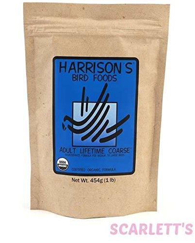 Harrison's Bird Foods Adult Lifetime Coarse 25lb