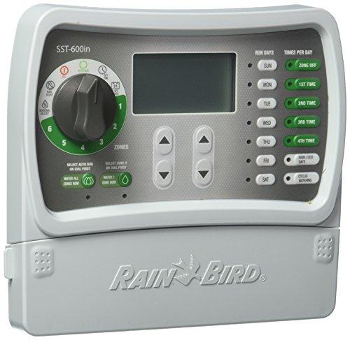Rain Bird SST600I Simple To Set Indoor Timer, 6-Zone - Rain Bird Irrigation Timer