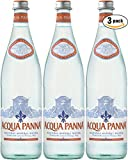 Acqua Panna Natural Spring Water, 25.3 Oz Glass Bottle (Pack of 3, Total of 75.90 Oz)