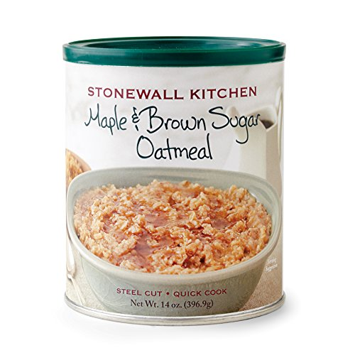 Stonewall Kitchen Maple and Brown Sugar Oatmeal, 14 Ounce