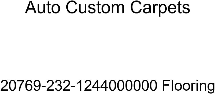 Auto Custom Carpets 20769-232-1244000000 Flooring