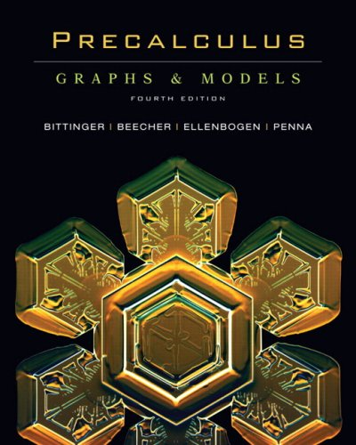 Precalculus: Graphs & Models and Graphing Calculator Manual Package Value Pack (includes MyMathLab/MyStatLab Student