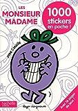 Les Monsieur Madame : 1000 stickers en poche !