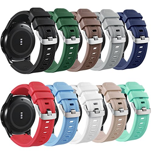 GinCoband Samsung Gear S3 bands Replacement accessories for Samsung Gear S3 Frontier and Gear S3 Classic Smart Watch 10 Color No tracker
