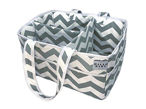 HALLO BABY Diaper Caddy and Nursery Storage Organzier Bin