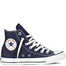 Converse Unisex All Star Hi's Basketball Shoes (Navy) 11.5