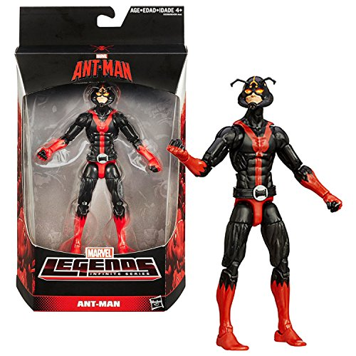 Hasbro Year 2015 Marvel Legends Infinite Series 6 Inch Tall Figure : ANT-MAN