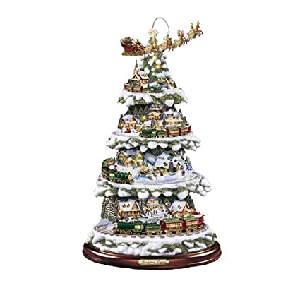 The Bradford Exchange Wonderland Express Christmas Tree By Thomas