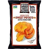Food Should Taste Good, Sweet Potato Chips, Kettle Chips, 4.5 oz (Pack of 12)
