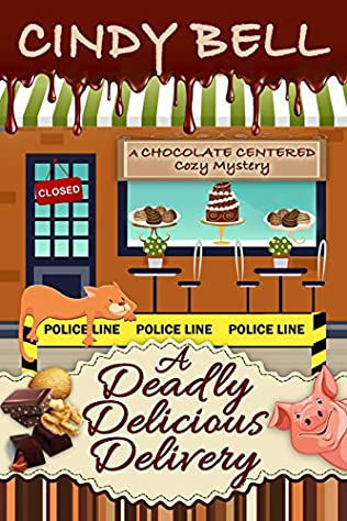 book cover of A Deadly Delicious Delivery