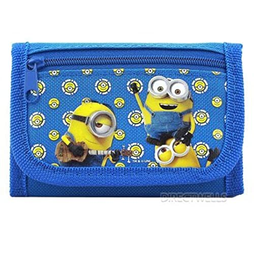 07. Despicable Me Minions Authentic Licensed Trifold Wallet